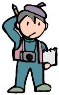 フリーのカメラマン